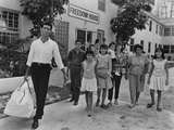 Cuban Refugee Family in Miami, Florida in 1966 Posters