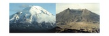 Before and after the Eruption of Mount Saint Helens on May 17, 1980 Posters