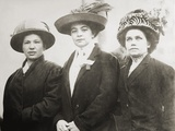 Portuguese Mill Girls who Worked in the Lowell Massachusetts Mills, Ca. 1910-15 Photo