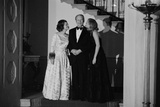 President and Betty Ford and Susan Ford White House Christmas Party, Dec. 17, 1975 Photo