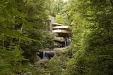 Fallingwater a Modernist House Was Designed by Frank Lloyd Wright in 1934 Posters