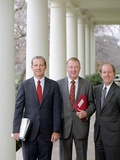 Ronald Reagan's ' Troika': L to R: James Baker, Ed Meese, and Michael Deaver, 1981 Photo