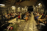 US Citizens Evacuated from Haiti in a C-17 Transport after 2010 Earthquake Posters