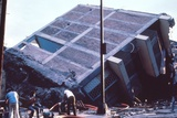 Mexico City Earthquake Broke a Building in Two, Sept. 19, 1985 Prints