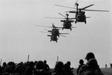 US Army Helicopters That Brought Troops to the Invasion Grenada, Oct. 1983 Photo