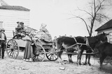 American Family on the Move During the Civil War in 1862 Photo by Geo. Barnard Photo