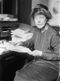 Lucy Burns, Founded the National Woman's Party with Alice Paul, 1913 Photo