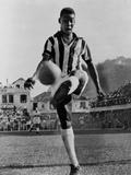 Pele, the Brazilian Soccer Champion in 1965 Photo