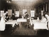 A Well Baby Clinic in Framingham, Massachusetts. 1920 Poster