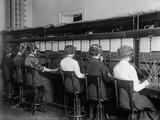 Female Telephone Operators at a Switchboard in Washington, D.C., Ca, 1915 Photo