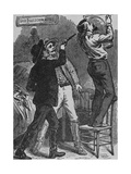 Bob Ford Murdering Jesse James, April 3, 1882 Poster