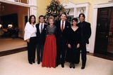 Reagan Family Christmas Portrait with Patti and Ron, and Significant Others, 1983 Photo
