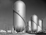Phillips Petroleum Company Gasoline Storage Tanks in Borger, Texas, 1942 Photo