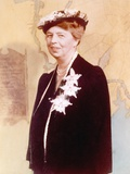Eleanor Roosevelt, Hand Colored Photograph Circa 1936 Photo
