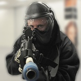 U.S. Airman Participates in Active Shooter Training, March 24, 2010 Photographic Print