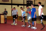 Brian Frasure Paralympian Speaking at a Military Amputees, June 4, 2007 Posters