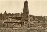 The Original 1859 Drake Oil Well in Titusville, Pennsylvania, the 1st Ever Drilled in the U.S Posters