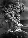 Mount St. Helens in Eruption on May 18, 1980 - Photo