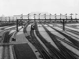 Union Station Switch Yards in Washington D.C., Ca. 1907-1910 Photo