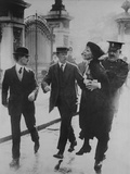 British Suffragette Emmeline Pankhurst Carried Away by a Policeman, June 2, 1914 Posters
