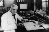 Dr. Alexander Flemings Discover of the Antibiotic Penicillin Photo