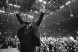 President Ford Is Cheered in Hempstead NY During the 1976 Presidential Campaign Photo