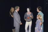 President Jimmy Carter, Rosalynn Carter and Amy Carter with Marcel Marceau, 1977 Photo