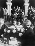 Funeral of African American Girl Killed at 16th Street Baptist Church, Sept. 1963 Photo