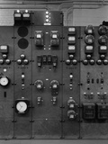 Control Panels of the Detroit Edison Substation in the Early 20th Century, 1920s Prints