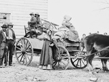 American Family on the Move During the Civil War in 1862 Photo by Geo. Barnard Posters