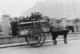 European Immigrants in Horse-Drawn Wagon, Buenos Aires, Argentina, Ca. 1910 Photo