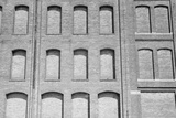 Factory Windows Bricked Up During the Great Depression, Minneapolis, 1939 Prints