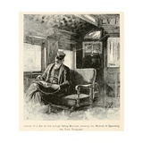 Railways Adopted Telegraphy to Prevent Delays and Accidents, Ca. 1870s Prints