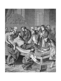 First Administration of Ether to a Patient to Undergo Surgery in Boston in 1846 Prints