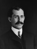 Orville Wright 1871-1948 at Age 34 in 1905 Print