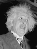 Albert Einstein (1879-1955), Speaking in Washington, D.C., Ca. 1940 Photo