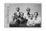 Survivors Family Members of Frazer Baker, Murder by Racist Mob on Feb. 22, 1898 Photo