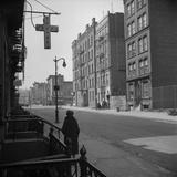 Harlem Street Scene. May 1943 Photo