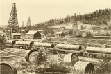 Loading an Oil Train in the Pennsylvania Oil Region, Ca. 1880 Photo