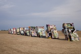 Cadillac Ranch Is a Public Art Installation in Amarillo Texas Was Created in 1874 Prints
