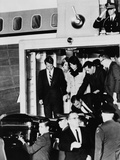 Robert and Jackie Kennedy Watch JFK's Coffin Carried to a Hearse, Nov. 22, 1963 Prints