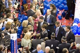 VP Candidate Sarah Palin and Her Husband Todd Palin at 2008 Republican Convention Poster