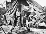 Bonus Marcher's Encampment Along Pennsylvania Avenue, July 1932 Poster