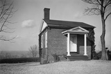Monticello, Outbuilding Used by Jefferson During Mansion Construction, Ca. 1930s Prints