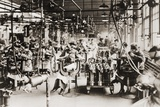 Women Working in Welding Department, Lincoln Motor Company in Detroit, Michigan During World War I Prints
