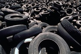 Dump of Discarded Automobile Tires, 1970s Photo