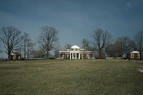 Monticello, Thomas Jefferson's Plantation Home, West Front from a Distance, 1978 Posters