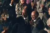Anwar Sadat and Menahem Begin Acknowledge Applause, Sept. 18, 1978 Prints