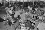 Garment Factory Operators Work at a New Deal Subsistence Homesteads in 1936 Prints