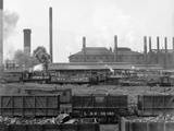 Tennessee Coal, Iron & Railroad Company's Furnaces at Ensley, Alabama, 1906 Prints